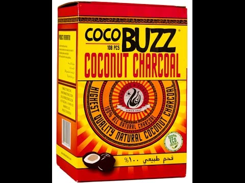 CocoBuzz Coconut Charcoal Review